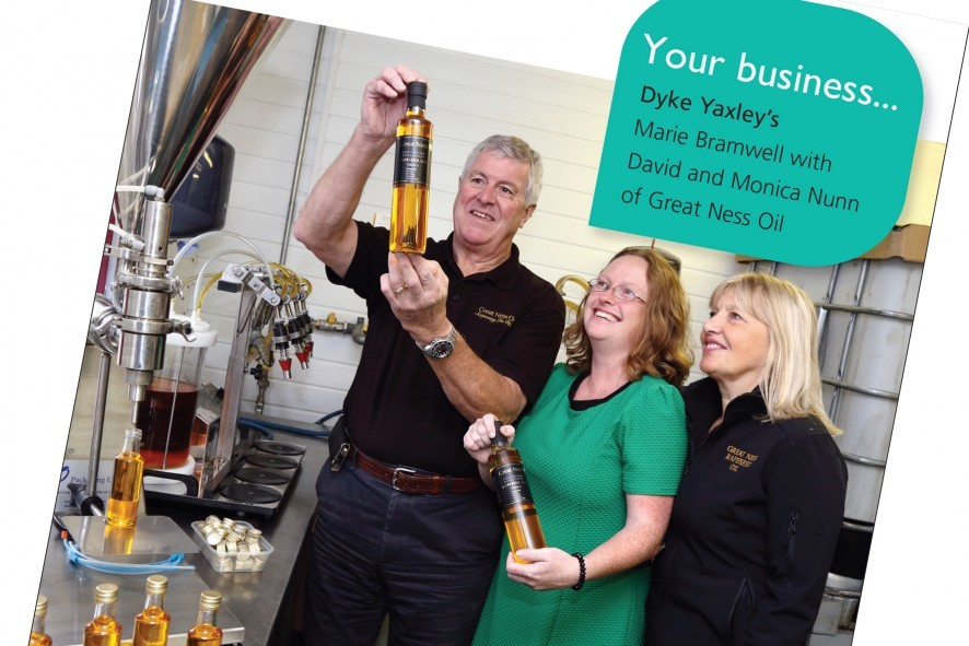 Dyke Yaxley Yourbusiness ad