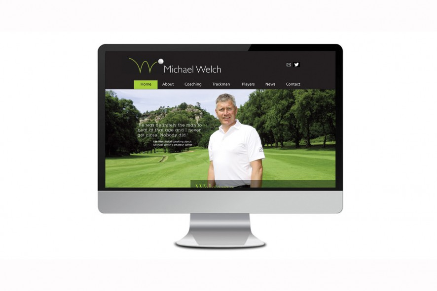 Michael Welch Website